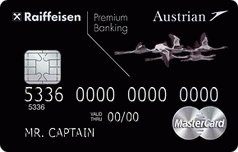Кредитная карта Austrian Airlines MasterCard World Black Edition от Райффайзенбанка