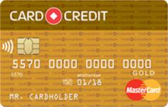 Кредитка Card Credit Gold Кредит Европа Банка