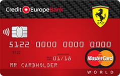 Кредитка Феррари Кредит Европа Банка