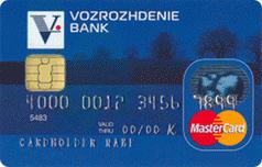 Дебетовая карта MasterCard Standart банка Возрождения
