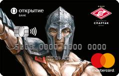 Дебетовая карта Болельщика от банка Открытие