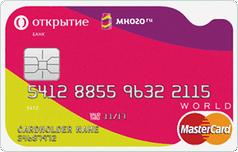 Дебетовая МногоКард карта от банка Открытие