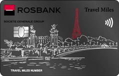 Дебетовая карта Travel Miles Платиновая от Росбанка
