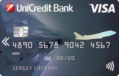 Дебетовая карта Виза Аир от ЮниКредит Банка