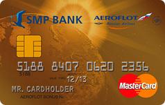 Кредитка Аэрофлот Голд от СМП Банка