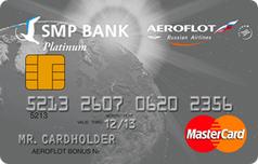 Кредитка Аэрофлот Мастеркард Платинум от СМП Банка