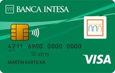 Кредитка Виза Классик Банка Интеза