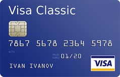 Кредитка Виза Классик Липецккомбанка