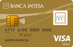 Кредитка Виза Голд Банка Интеза